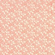 Moda Hello Darling by Bonnie & Camille - 4124 - Dainty Floral in White & Pink - 55117 27 - Cotton Fabric